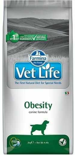 Vet Life Obesity Dog