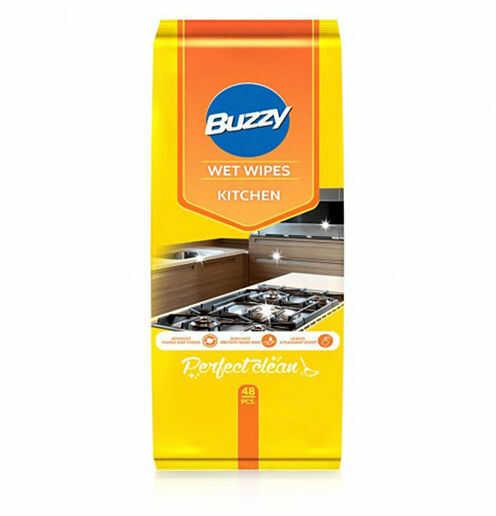 V Buzzy chusteczki nawilżane Do czyszczenia kuchni 48 szt.