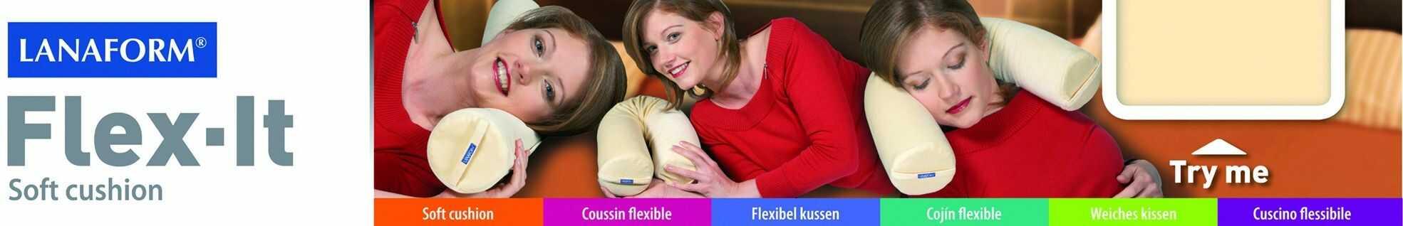 Poduszka ortopedyczna Lanaform Flex it