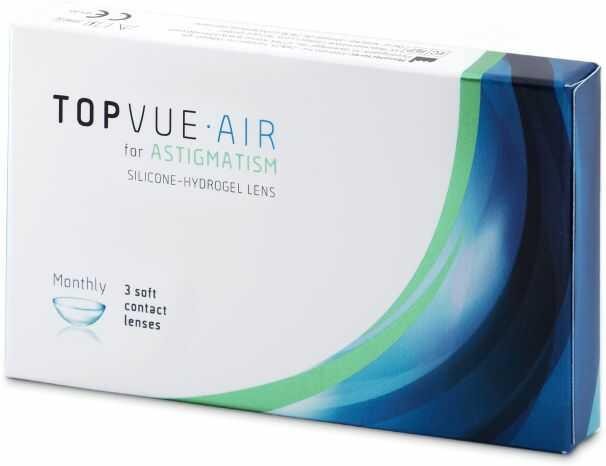 TopVue Air for Astigmatism (3 soczewki)