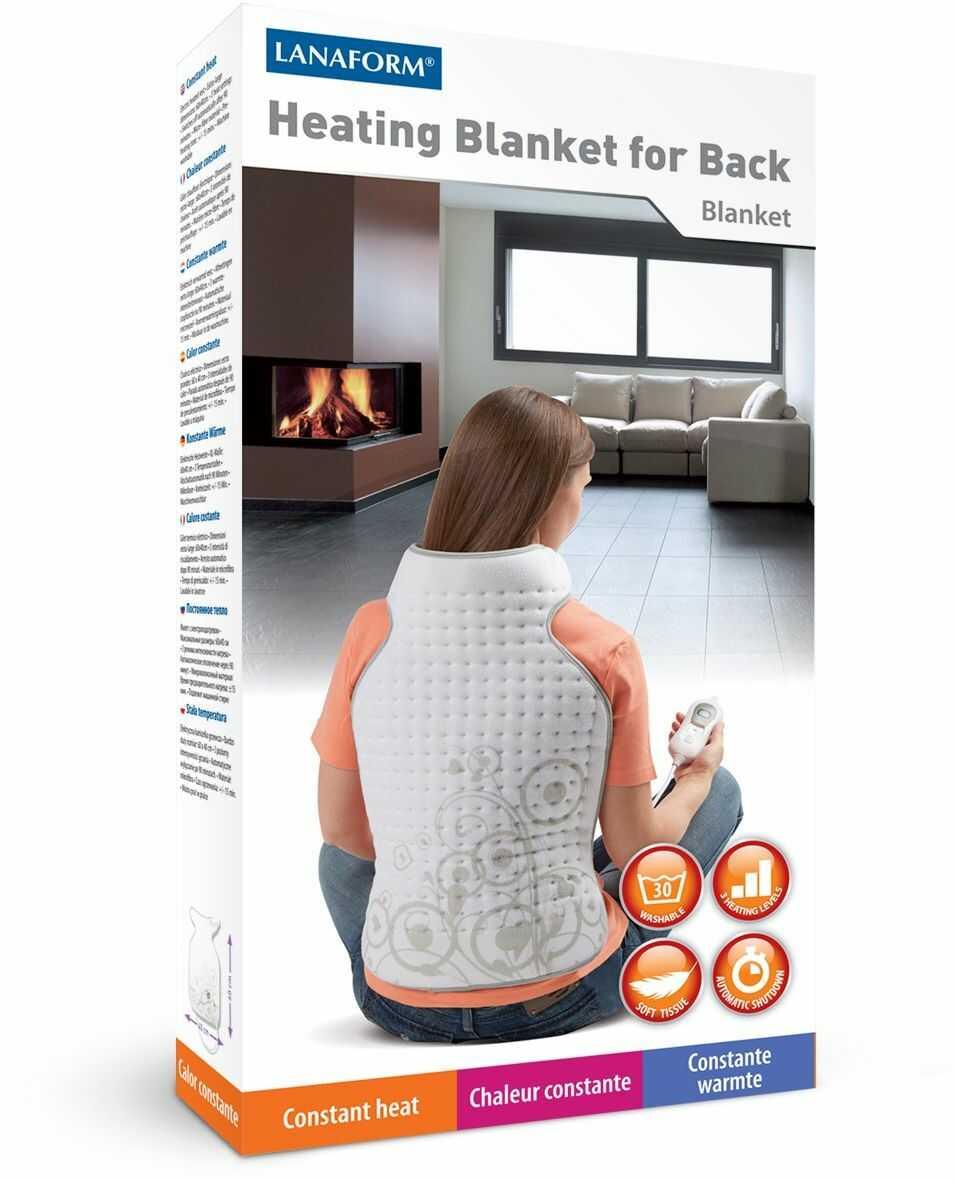 Koc grzewczy Lanaform Heating Blanket For Back