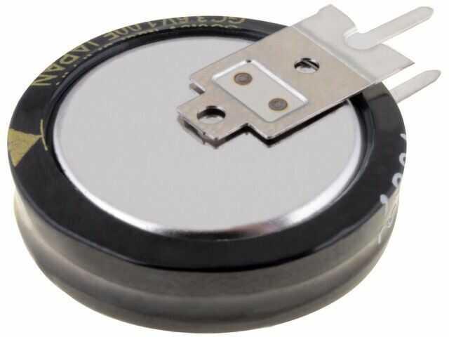 Kondensator elektrolityczny PANASONIC THT 1F 3,6V O21x5,5mm Raster:5mm