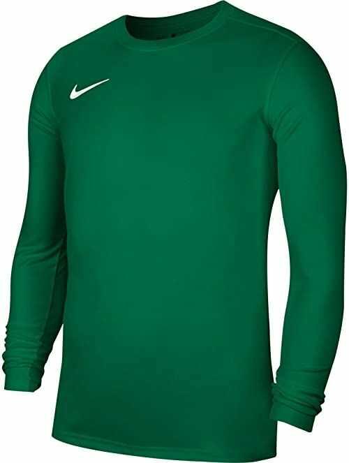 Nike Dziecięcy Park VII Jersey LS, sosna zielona/(biała), XS