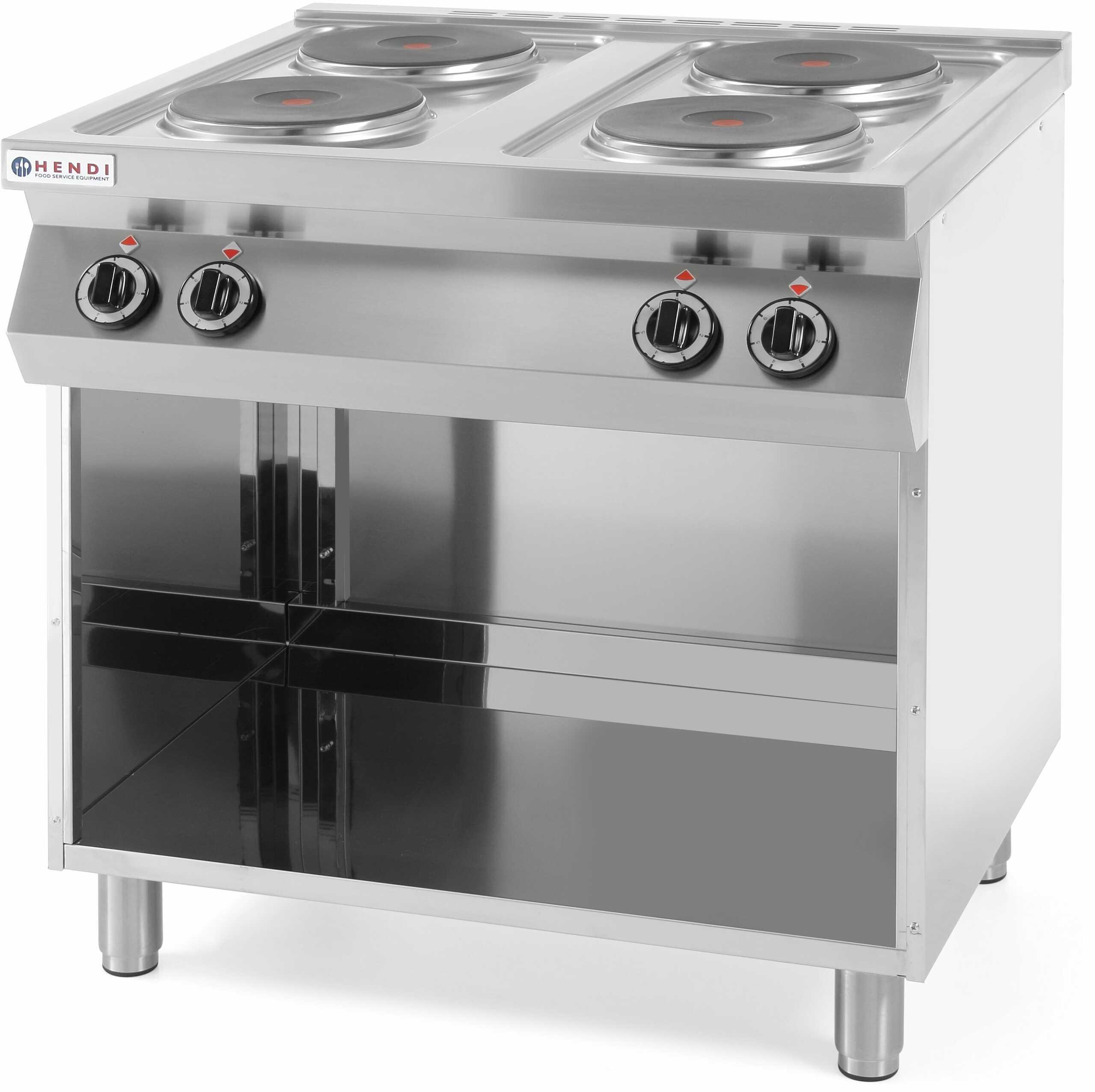 Kuchnia elektryczna 4-płytowa Kitchen Line