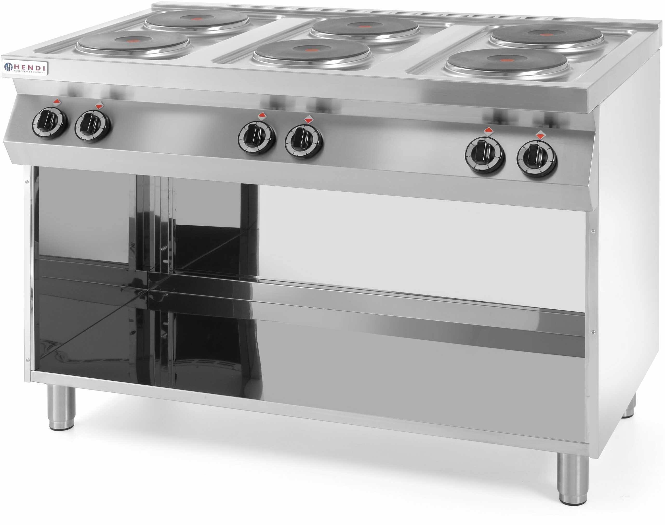 Kuchnia elektryczna 6-płytowa Kitchen Line