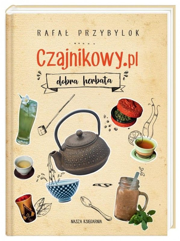 Czajnikowy.pl. Dobra herbata ZAKŁADKA DO KSIĄŻEK GRATIS DO KAŻDEGO ZAMÓWIENIA