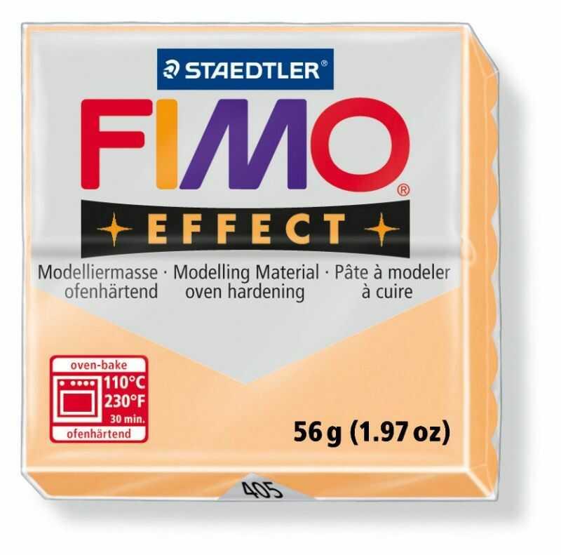 Masa plastyczna FIMO Effect 57g 811075 005535-BRZO, Kolor masy: Brzoskwiniowa