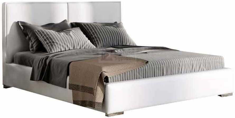 Łóżko tapicerowane Quaddro Duo z pojemnikiem New Design