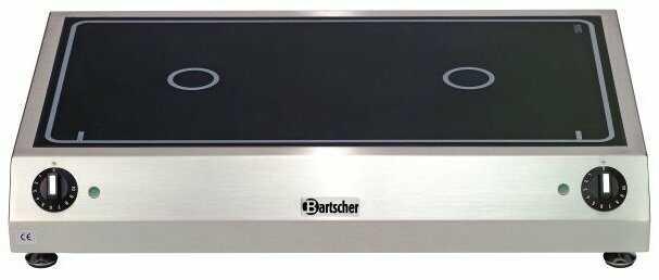 Bartscher Kuchnia ceramiczna nastawna 2 pola grzewcze 6000W - kod 104907