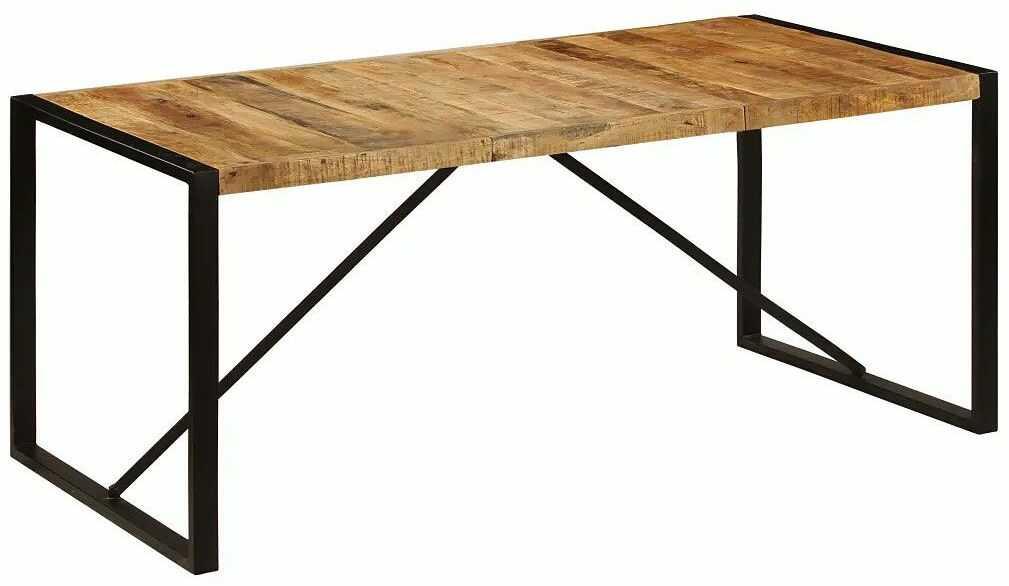 Industrialny stół z mango 90x180 - Veriz 4X