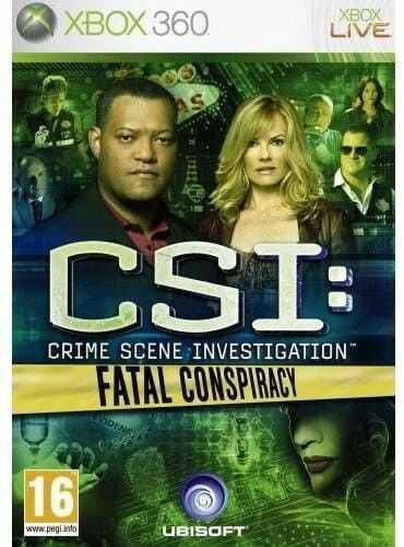 CSI: CRIME SCENE INVESTIGATION X360 Używana
