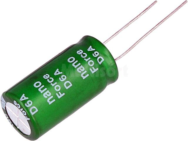 Kondensator elektrolityczny SAMXON THT 10F 2,7V O12,5x25mm 20%