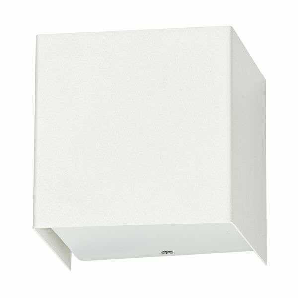 Kinkiet CUBE white 9cm sześcian 5266 biały Nowodvorski + RABAT w koszyku !!!