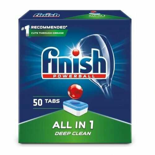 Finish tabletki do zmywarki All in 1 50szt Regular