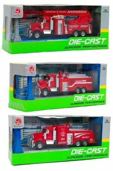 Straż pożarna 3 rodzaje - Isere