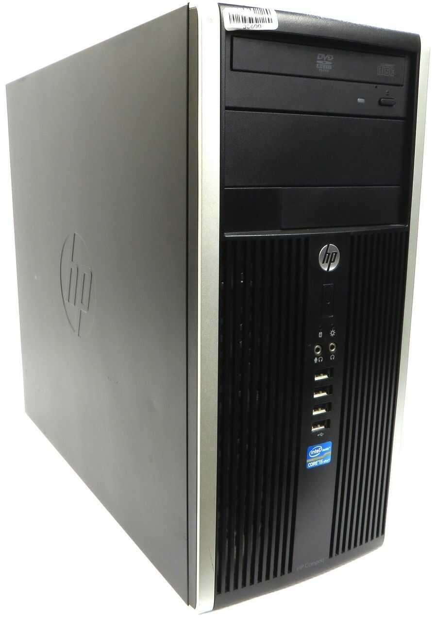 Komputer HP Compaq Elite 8300 Intel i5-3470 4x3.60GHz 8GB 480GB SSD nVidia NVS 310 Windows 10 Professional - TOWER