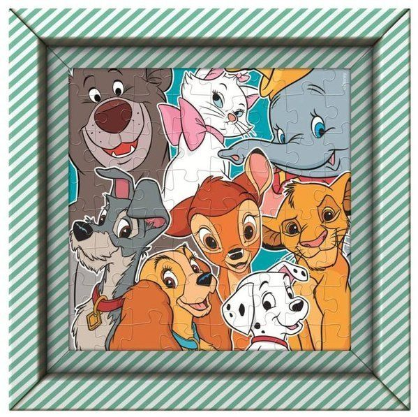 Puzzle 60 Frame Me Up Disney Animals - Clementoni
