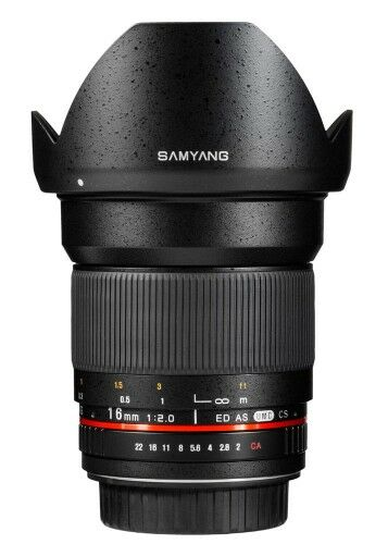 Samyang 16mm F2.0 Canon