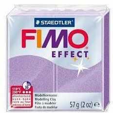 Masa plastyczna FIMO Effect 57g 802281 14738, Kolor masy: Liliowy perłowy