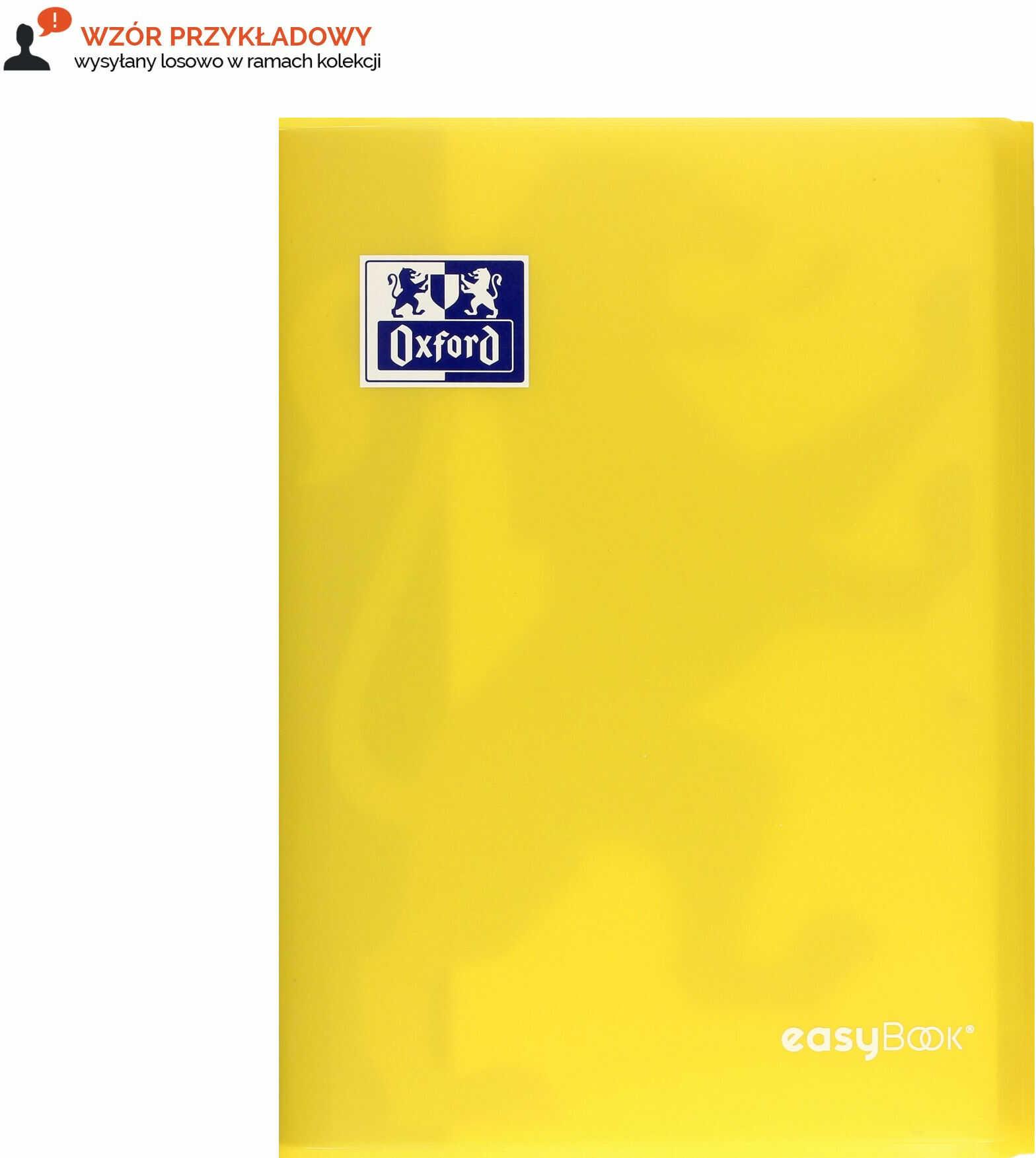 Zeszyt A4/60 kratka PP Easybook Oxford 400146695