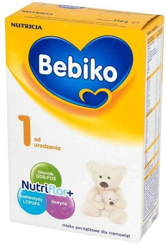 Bebiko 1 mleko początkowe od urodzenia proszek 350 g