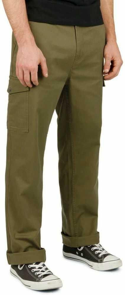 spodnie męskie BRIXTON FLEET CARGO PANT Olive
