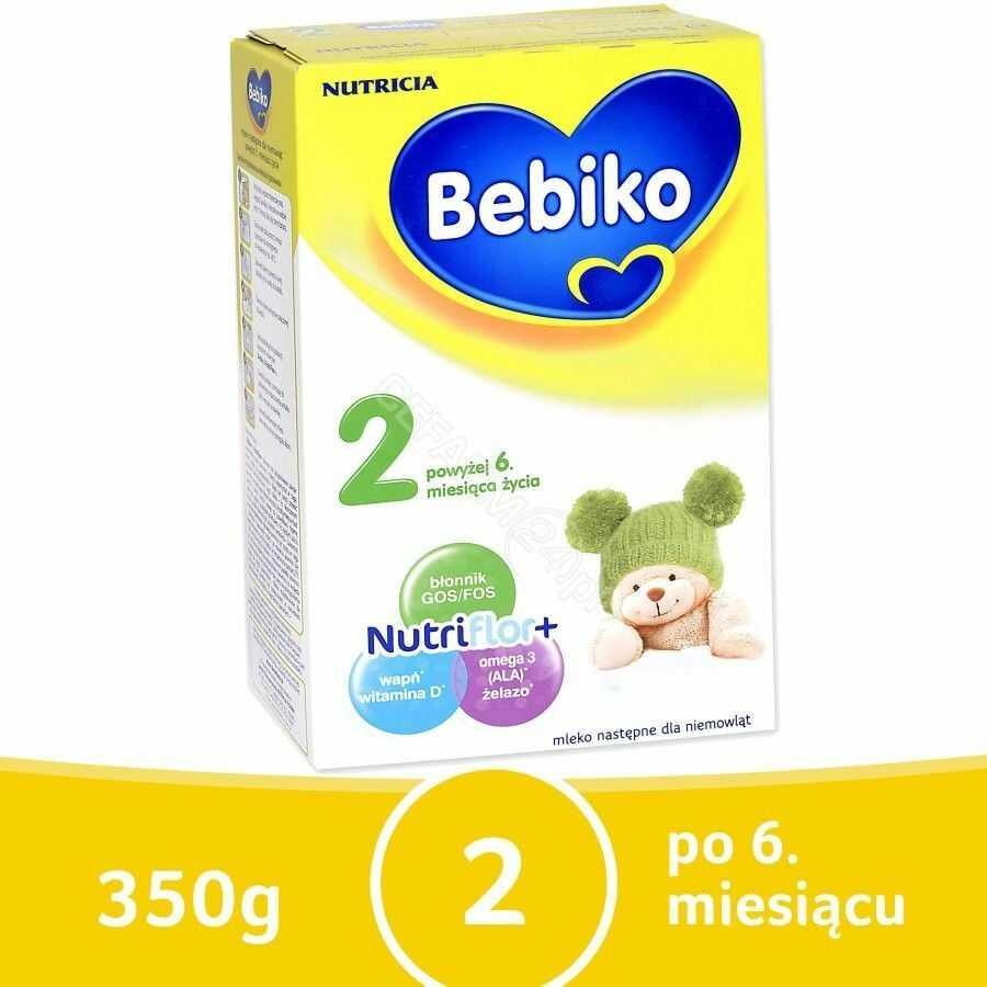 Bebiko 2 mleko następne powyżej 6 miesiąca życia proszek 350 g