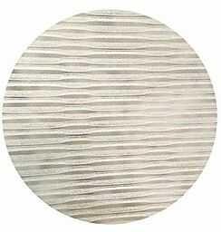 Home fashion paski poprzeczne o wyglądzie bambusa, kolor biały, 245 x 60 cm