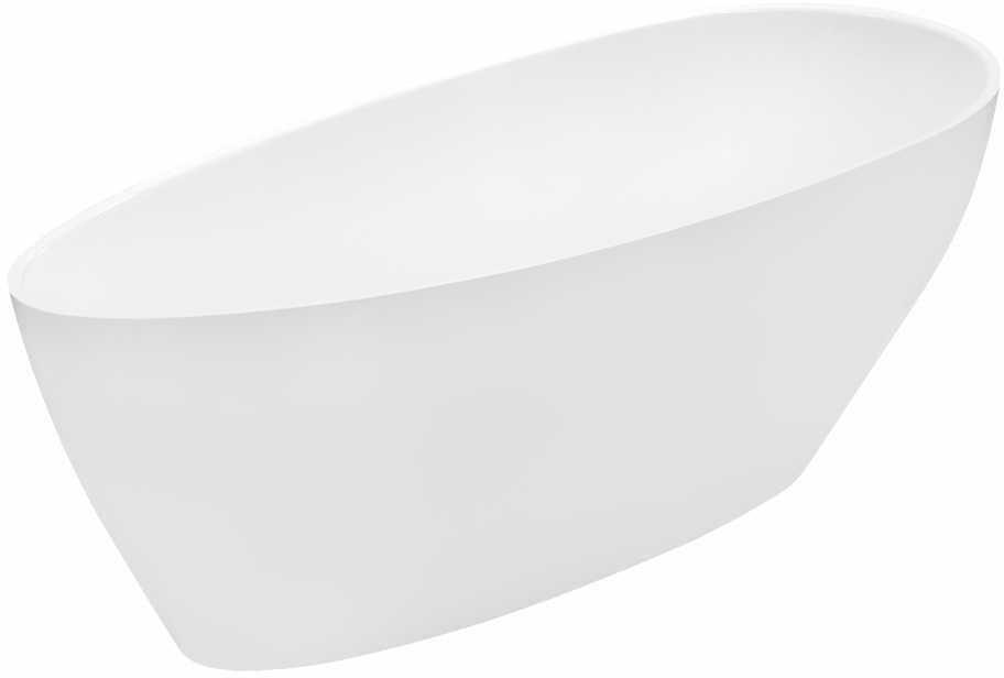 Besco wanna wolnostojąca Goya 160x70 cm biała + syfon klik-klak + wysyłka gratis 24h