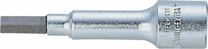"wydłużana nasadka ręczna 1/4"" z końcówką IMBUS, 3 mm, Bahco [A6709M-3]"