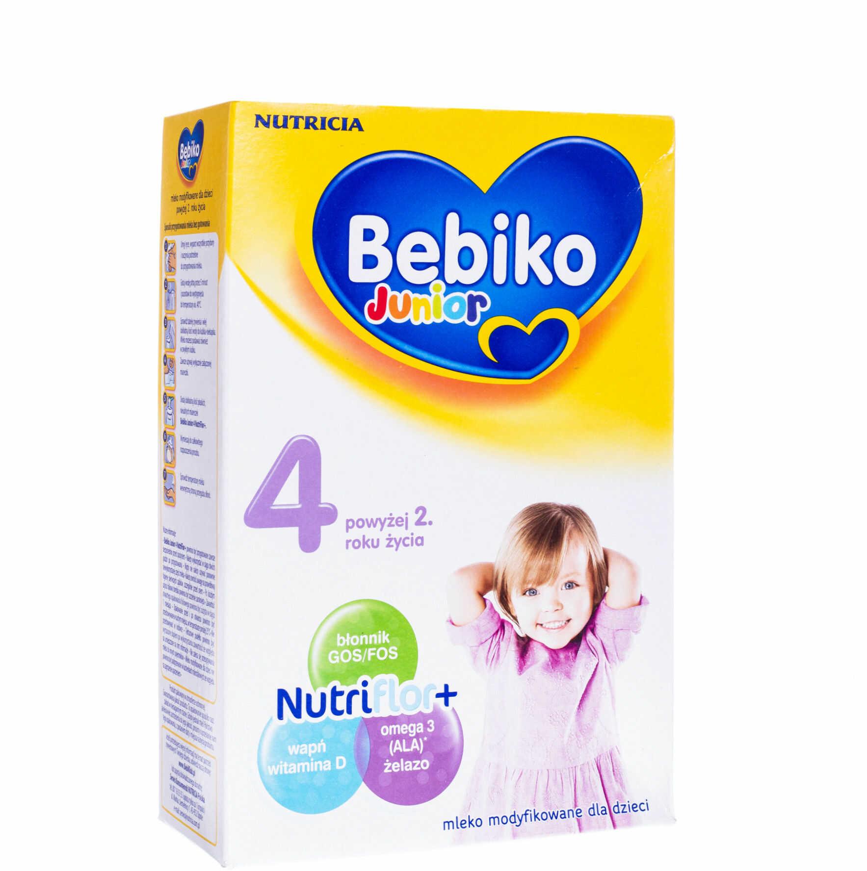 Bebiko Junior 4 mleko modyfikowane powyżej 2 roku życia proszek 350 g