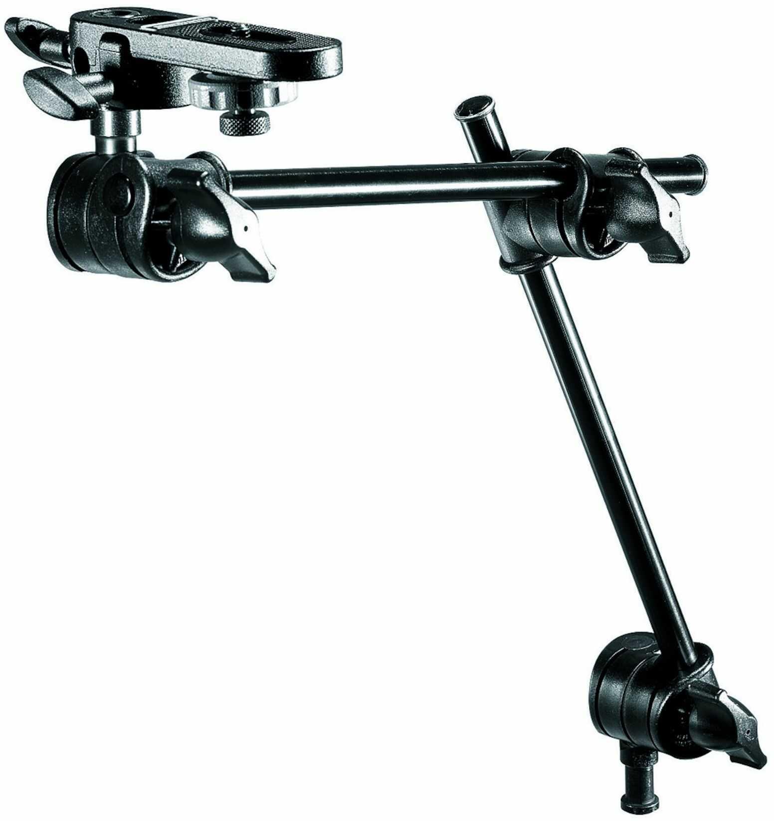 Manfrotto 196B-2 - Mini arm / ramię pojedyńcze 2-sekcyjne + Manfrotto 143BKT Manfrotto 196B-2 - Mini arm / ramię pojedyńcze 2-sekcyjne + Manfrotto 143BKT