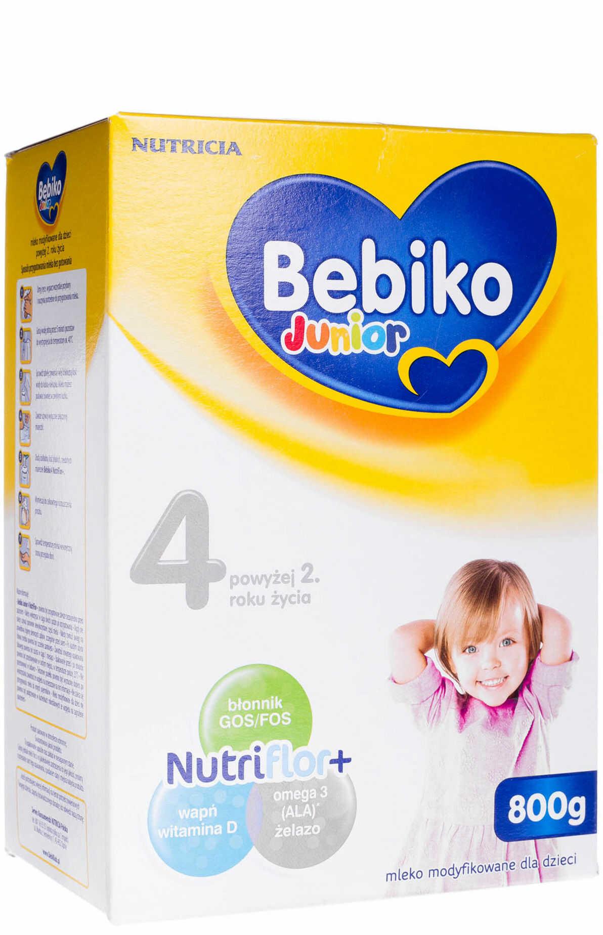 Bebiko Junior 4 mleko modyfikowane powyżej 2 roku życia proszek 800 g