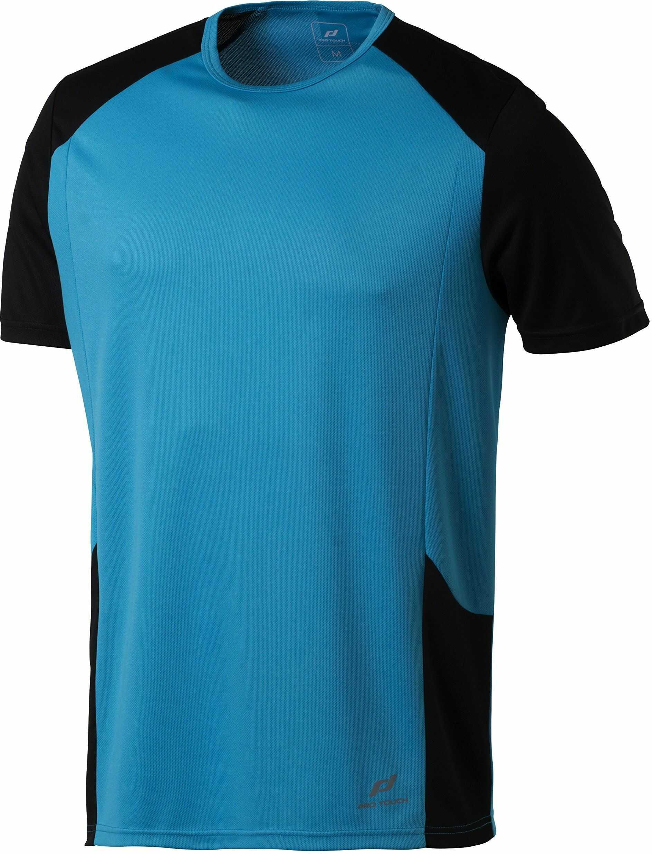 Pro Touch męski T-shirt T-shirt Cup niebieski Atomic Blue/Schwarz XX-L
