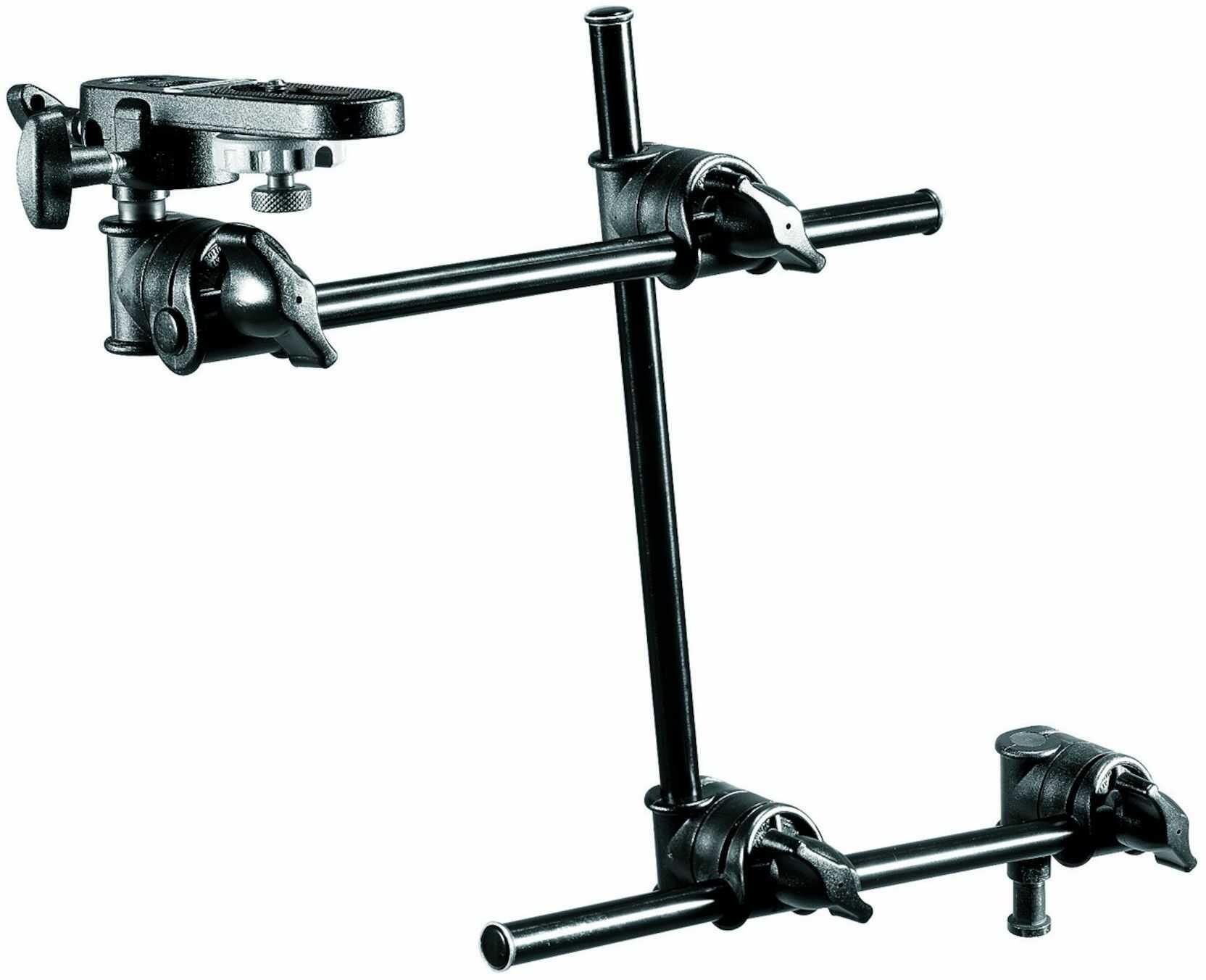 Manfrotto 196B-3 - Mini arm / ramię pojedyńcze 3-sekcyjne + Manfrotto 143BKT Manfrotto 196B-3 - Mini arm / ramię pojedyńcze 3-sekcyjne + Manfrotto 143BKT