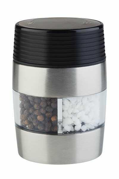 Młynek do soli i pieprzu 2w1 60x45x(H)95mm