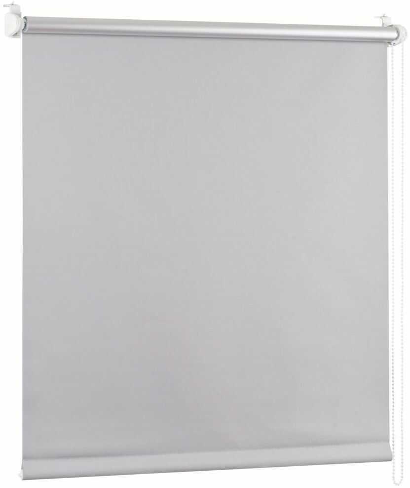 Roleta zaciemniająca BLACKOUT 110 x 150 cm szara termoizolacyjna
