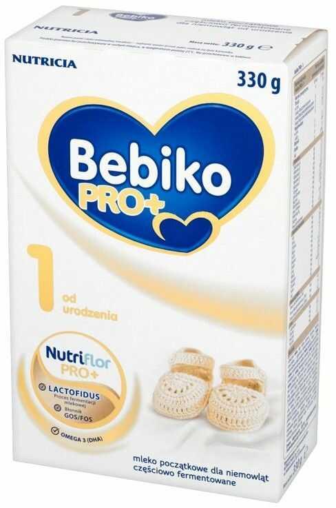 Bebiko Pro+ 1 mleko początkowe częściowo fermentowane od urodzenia 600 g