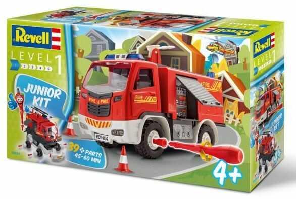 Wóz strażacki Junior kit Fire truck