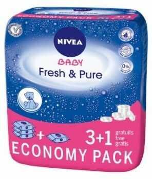 Chusteczki Pure & Fresh 4 x 63szt - Nivea Baby
