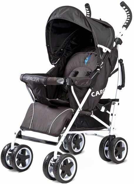 Caretero wózek spacerowy spacer 2017 black
