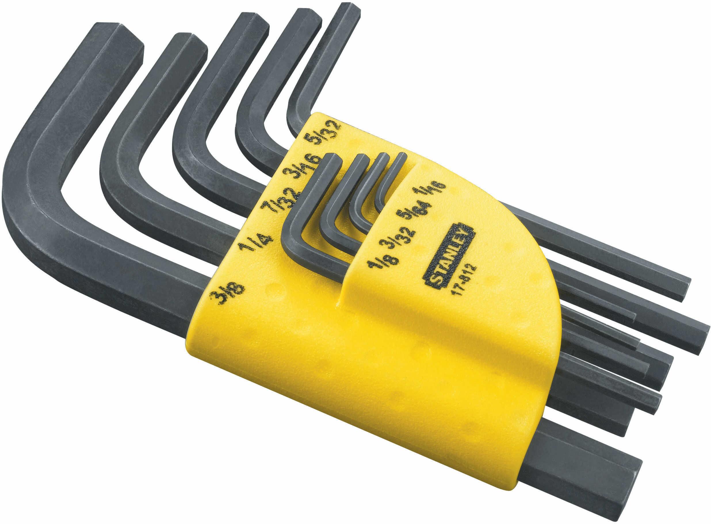 Zestaw kluczy sześciok. długich z końc. kulistą (1,5-10 mm)