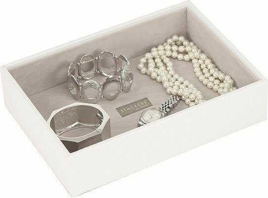 Szkatułka na biżuterię stackers open classic biała