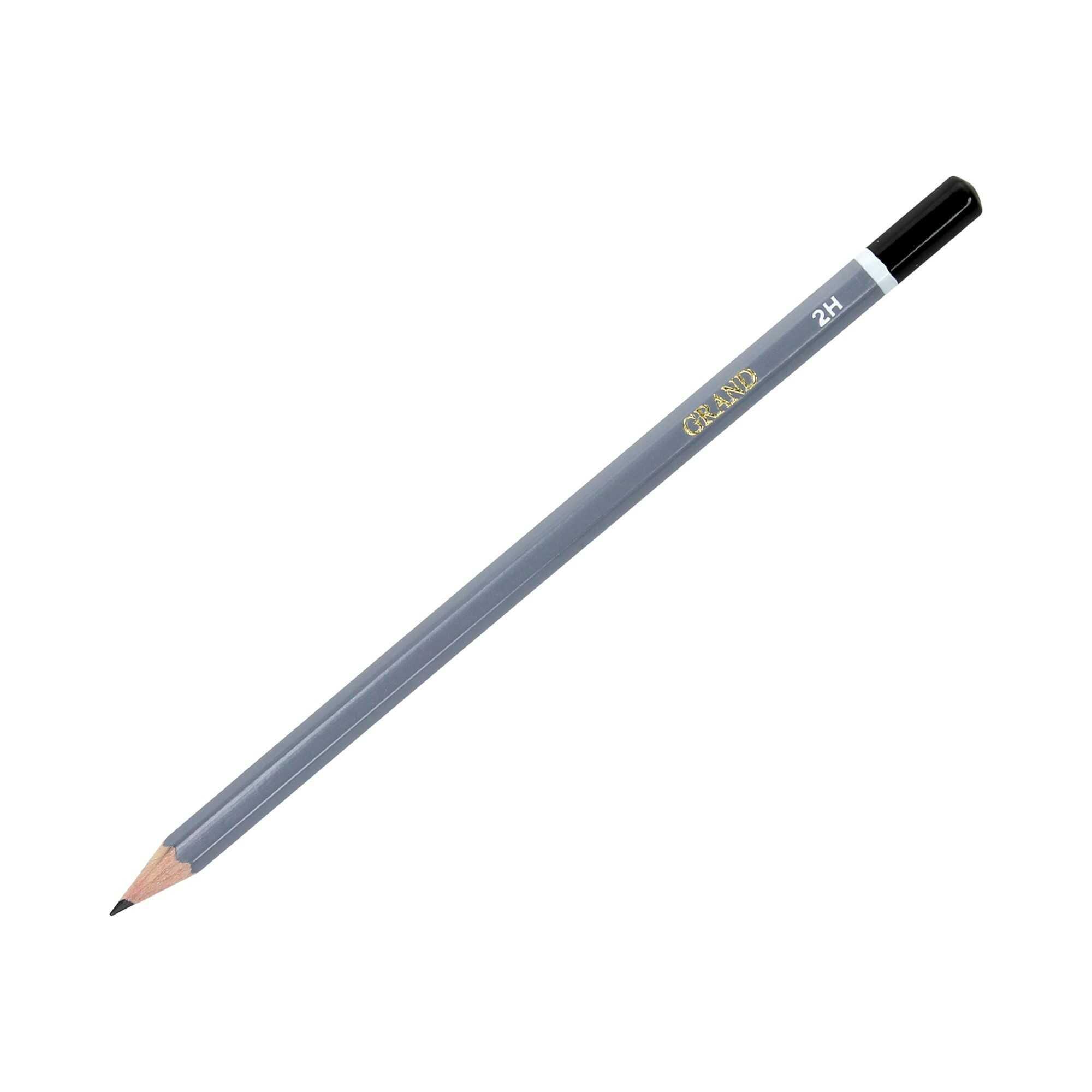 Ołówek techniczny 2H b/g Grand