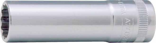 """Zestaw wydłużanych, 12-kątnych nasadek 3/8"""", 6-19mm, 14 szt. BAHCO [S1214L]"""