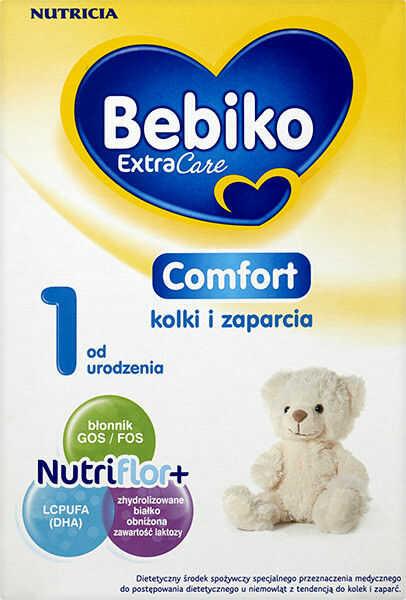 Bebiko Extra Care Comfort 1 mleko specjalistyczne przeciw kolkom i zaparciom od urodzenia 350 g