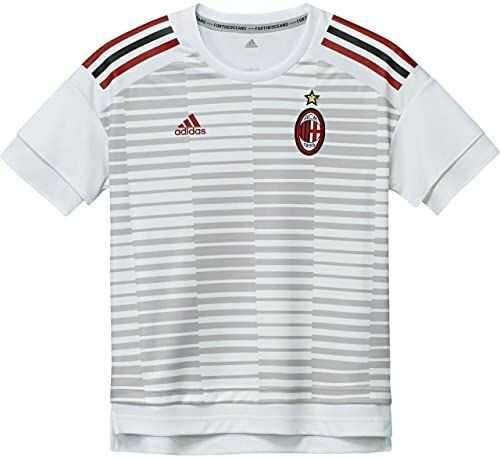adidas AC Milan koszulka dla dzieci, wersja domowa, kolor biały/szary