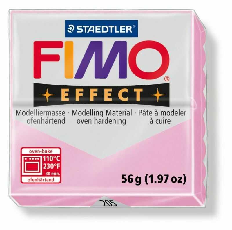 Masa plastyczna FIMO Effect 57g 818029 5504, Kolor masy: Różowa