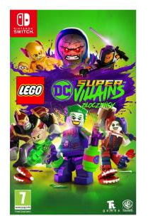 Gra LEGO DC Super Villains Super Złoczyńcy (Nintendo SWITCH)