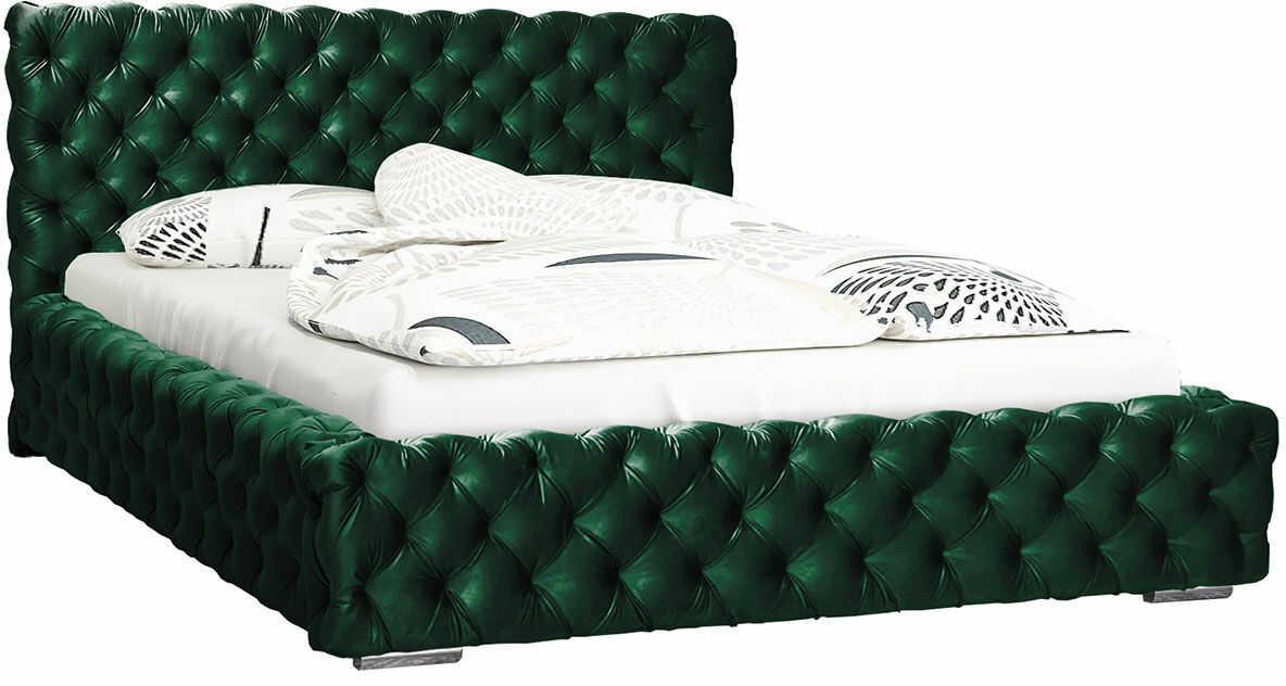 Podwójne łóżko tapicerowane 180x200 Sari 2X - 48 kolorów
